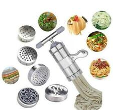 Stainless Steel Pasta Noodle Maker Machine Cutter For Fresh Spaghetti Kitchen LD