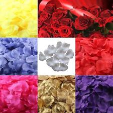 Happy Sale 200pcs Silk Rose Petals Artificial Flower Wedding Favor Bridal Shower