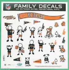 NWT NFL  Family Auto Decals 25pc, Chicago Bears, Dallas Cowboys, Car Decals
