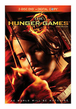 The Hunger Games (DVD, 2012, 2-Disc Set) with Free Shipping