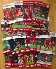 Liverpool FC Home Programmes 2010/2011 - Choose from List