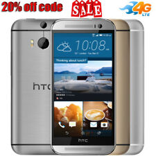 """HTC ONE M8 5"""" HD 16GB/2GB Android 4G LTE Smartphone Mobile Factory Unlocked OTG"""