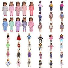 Trendy Outfit Clothes Pajamas Dress Schoolbag For 18'' Journey Girls Doll Accss