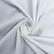"""Solid 58"""" Chambray Woven Cotton Fabric by the Yard or Sample Swatch"""