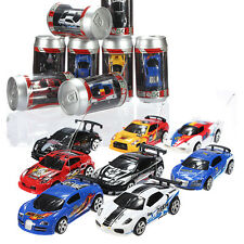 Mini RC Radio Remote Control Micro Racing Model Coke Pop Can Car Toy Kids Gift