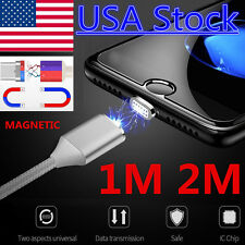 US Fast Magnetic Micro USB Charge Sync Data Cable For Samsung Galaxy Phone