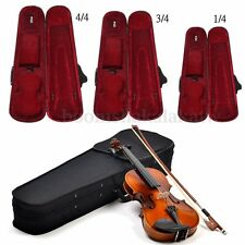 Portable Student Professional Oxford Fabric Violin Case Black Triangle Shaped