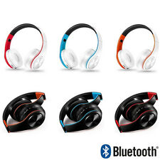 Foldable Wireless Bluetooth Headset Stereo Headphone Earphone Music Player NEW
