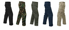 RIP STOP COTTON Cargo Pants BDU Military Army Navy USMC Marines Hunting EMT SWAT