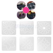 Clear Stencil Plastic Quilting Template Quilt Tool for Patchwork Painting DIY