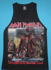 Iron Maiden - Stranger in a Strange Land Tank Top Vest Mens Sleeveless T-shirt