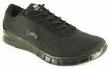 New Womens/Ladies Black Mesh Lonsdale Remi Trainers/Running Shoes UK SIZES