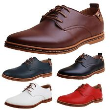 SSS Office Oxford Italian style Smart casual mens British flat Shoes Size 5-14