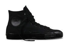 CONVERSE CTAS PRO HI BLACK BLACK MENS CANVAS SKATEBOARD SHOES SNEAKERS AUSTRALIA
