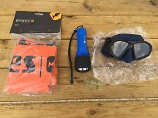 SCUBA, snorkeling,diving,spearfishing knife,mask,snorkel,torch,buoy,socks,belt