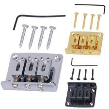 3 String Electric Guitar Saddle Bridge Alloy Musical Instrument Replacement