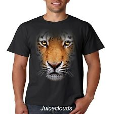 Tiger T Shirt Big Tiger Face Wild Big Cat Jungle Africa Mountain Men's Tee