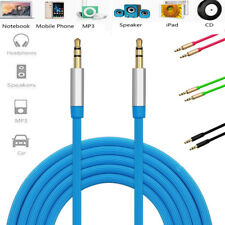 3.5mm 1.3M Car Aux Auxiliary Male to Male Stereo Audio Cable For MP3 CAR IPOD PC
