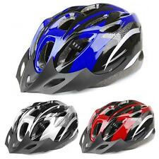 Mens Adult MTB Bike Bicycle Road Cycling 18 Holes Safety Helmet With Visor SPT