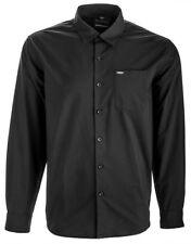 Fly Racing 352-6200S Button Up Shirt Sm Black