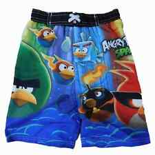 Angry Birds Space Boys Multicolor Swim Trunks Board Shorts
