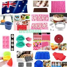 3D Silicone Cake Fondant Mold Chocolate Pastry Baking Mould DIY Decor Sugarcraft