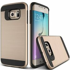 Hard Back Case Armor Hybrid Bumper Anti-shock Cover For Samsung Galaxy Gold