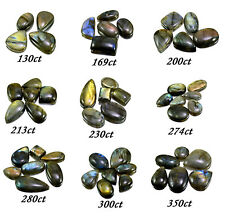 130ct-350ct Big Natural Rare Labradorite Loose Gemstones Cabs Wholesale Lot
