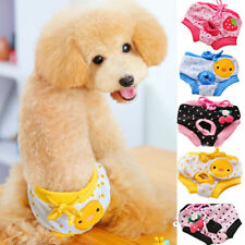Washable Pet Dog Puppy Diaper Pants Physiological Sanitary Short Panty Underwear