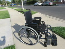 KI mobility catalyst manual folding lightweight wheelchair w/removeable wheels