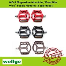 "Wellgo MG-3 Magnesium Mountain / Road Bike 9/16"" Pedals Platform (3 color types)"