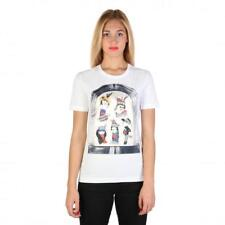 Love Moschino Clothing Women T-shirts White 74765 Outlet BDX