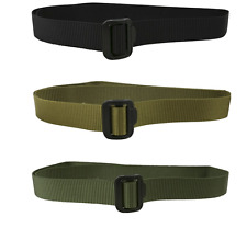 MILITARY TACTICAL WEBBING FAST BELT EXTREMELY TOUGH GREEN BLACK MENS ARMY CADET