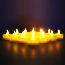 Novelty Place LED Flickering Candles Flameless Tealight Tea Candle Fake Romantic