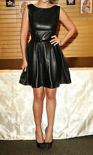 WOMEN LEATHER DRESS GENUINE LAMBSKIN PURE LEATHER SEXY COCKTAIL PARTY DRESS 5