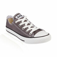 Converse All Star Ox Low Top Junior Kids Trainer Charcoal