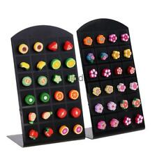 12 Pairs Lovely Multi-color Polymer Clay Women Girls Stud Earrings Fruit Flower