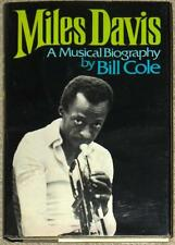 MILES DAVIS ~ A MUSICAL BIOGRAPHY ~ BILL COLE ~ VINTAGE 1974 ~ FIRST PRINT ~ HC