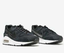 Nike Air Max Command suede leather running shoes trainers black [397690 023] NEW
