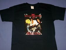 Michael Jackson Rest In Peace Navy Blue T-Shirt Youth Size NWOT
