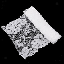 5 Yards Vintage Embroidered Lace Trim Ribbon Wedding Applique Sewing White/Black
