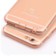 Shockproof Clear Transparent Soft Silicone Case Cover For Apple iPhone 6 6s Plus