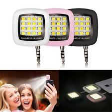 Phone Flash Portable Phone Selfie Mini 16 LED Flash Fill Light For Smartphone