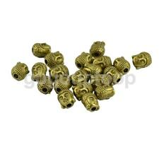 20pcs Spacer Spacer Beads 3D Buddha DIY Jewelry Charm for Bracelet Earrings