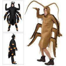 Smiffys Adults Spider OR Cockroach Insect Bug Halloween Fancy Dress Costume