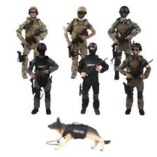 12'' Action Figure Army Special Forces Soldier with Equipments 1/6 Scale Toys