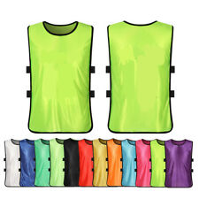 Sports Scrimmage Vests Soccer Basketball Team Training Youth Adult Kids Jerseys