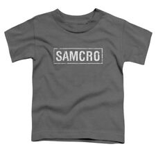 Sons Of Anarchy/Samcro S/S Toddler Tee Charcoal   Soa102