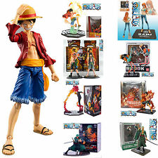 One Piece Anime Luffy Sanji Zoro Nami PVC Action Figurine Figure Toys Collection
