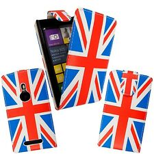 UNION JACK PRINT PU LEATHER MAGNETIC FLIP CASE COVER FOR NOKIA LUMIA N925